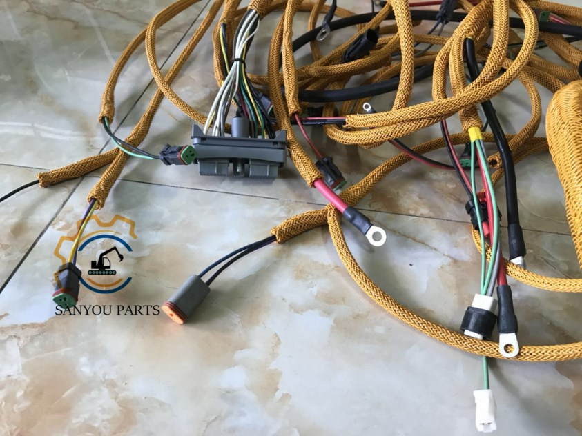 CAT E320D Wiring Harness(Outer Line),Electronic Fuel Injection