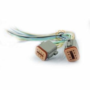 E320 Accelerator Motor, E320b Accelerator Motor , E320b 247-5231, E320c 247-5212 Accelerator Motor,E320B Throttle Cable,E320B Plug 6 Holes, E320C Plug 8 Holes
