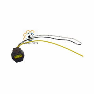 SK200-8 Solenoid Valve Connector 3 Lines SK200-8 Sensor Plug