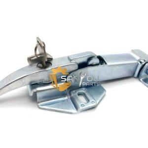 R225-7 Engine Cover Lock For Hyundai Excavator