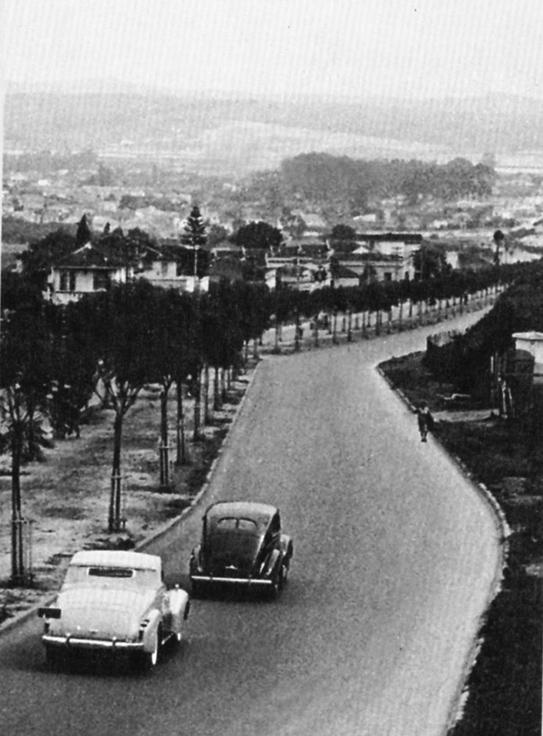 Avenida Rebouças, sentido bairro, em 1939