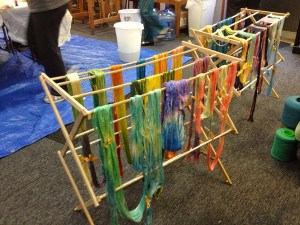 dying workshop yarn