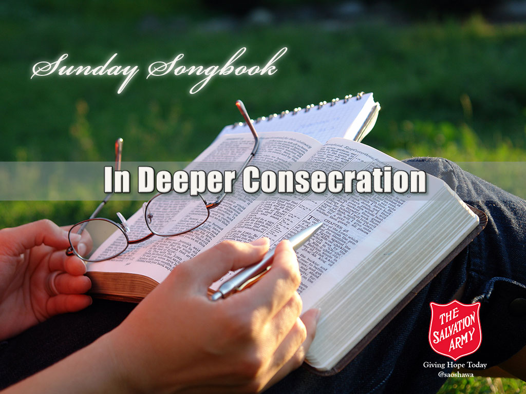 In Deeper Consecration