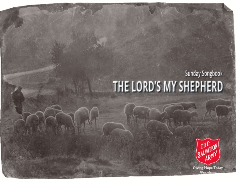 THE-LORDS-MY-SHEPHERD