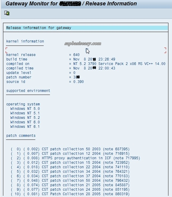 How to Monitor SAP Gateway - SAP Basis Easy
