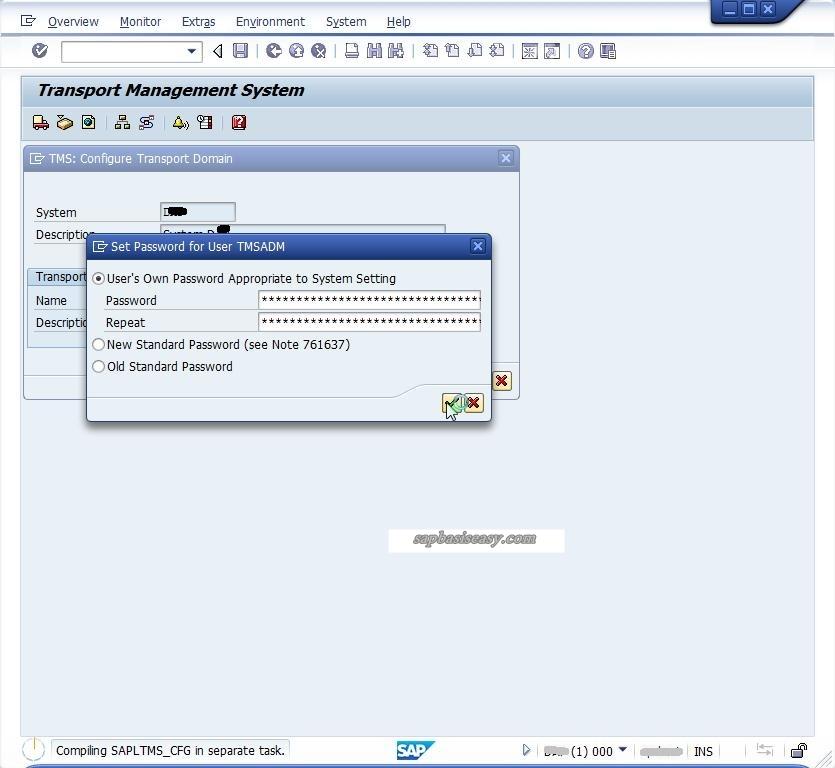 TMSADM for SAP STMS