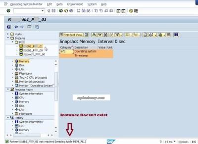 Delete unused SAP instance