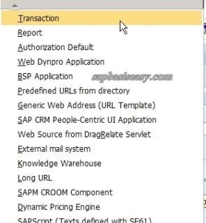 create SAP Role