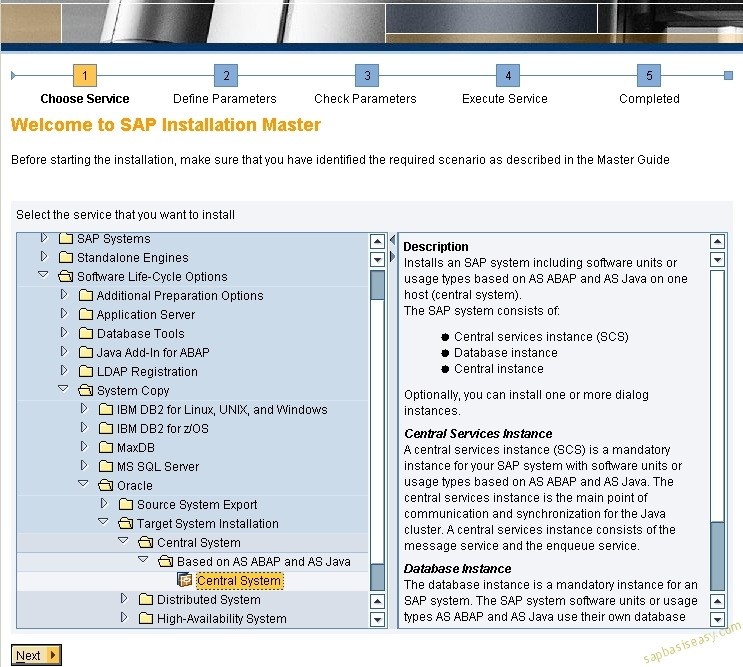 SAP Database Import using R3load procedure and Migration