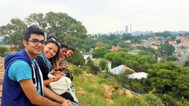 Joburg Skyline Caledonia Hill - Heritage Portal - 2016