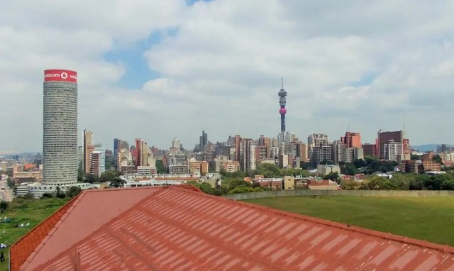 View of Hillbrow from Westminster Mansions - Heritage Portal - 2013