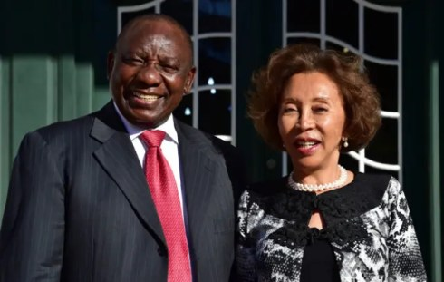 Image result for who is cyril ramaphosa wife