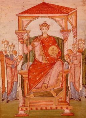 Italia . Ottone II di Sassonia, imperatore del Sacro Romano Impero dal 967 al 983.De Agostini Picture Library/M. Seemuller