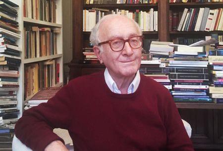 Il giurista Luigi Ferrajoli nell'immagine che lui stesso ha spedito al Paìs
