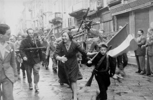 25 aprile, manifestazione della Liberazione
