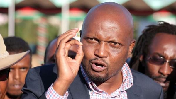 Il deputato Moses Kuria