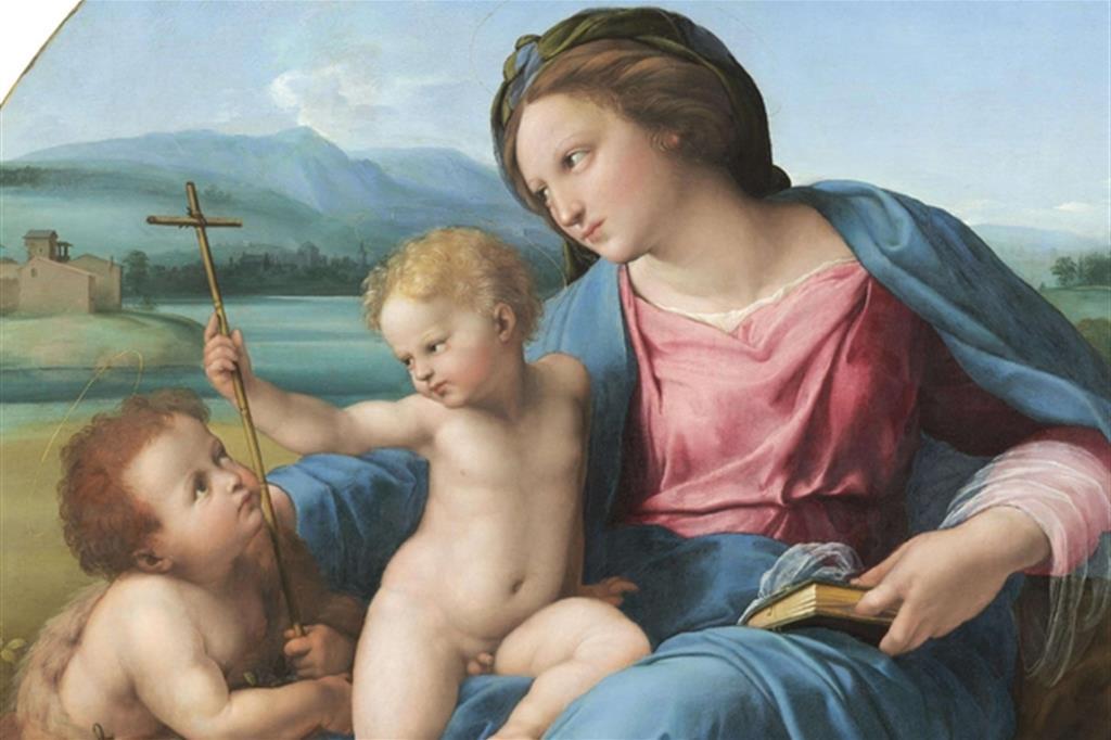 La Madonna d'Alba di Raffaello