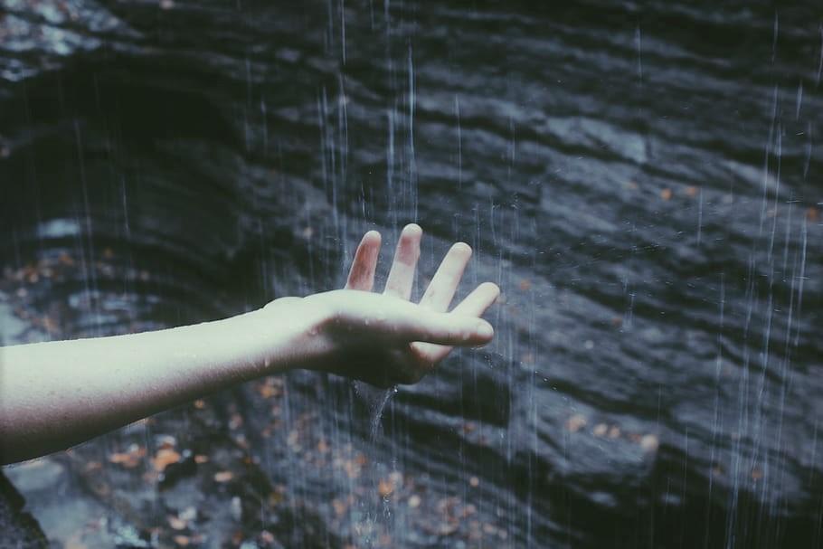 pioggia battente