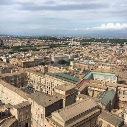 Vista sulla Città del Vaticano