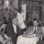 Pier Paolo Pasolini, Alberto Moravia ed Elsa Morante a Roma nel 1962 (Foto: Agenzia Dufoto, Courtesy Collezione Giuseppe Garrera)