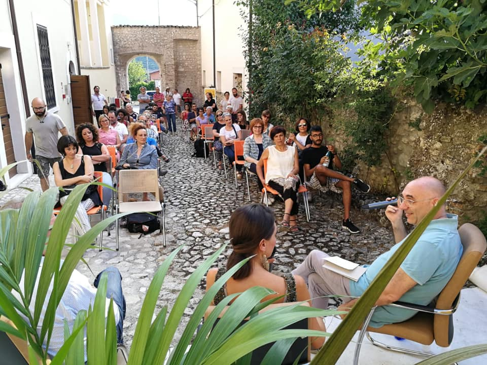 Un momento di Storicampus, il festival che si tiene in provincia de L'Aqulia a fine luglio