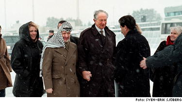 Arafat inbjuden till jordanien