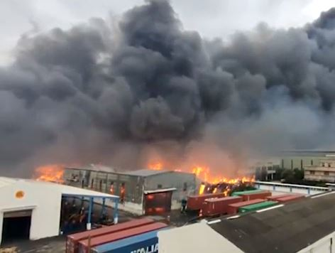 Incendio distrugge la seconda fabbrica mondiale di idrossiclorochina – VIDEO