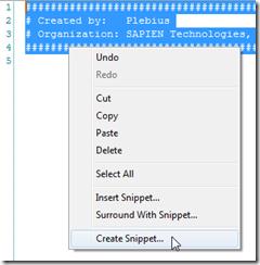 CreateSnippet1