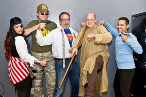 SAPIEN Technologies Team -- Halloween Version