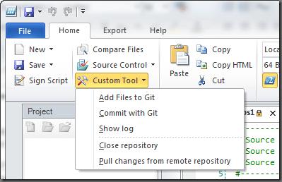 Custom Tool Menu Localized Commands