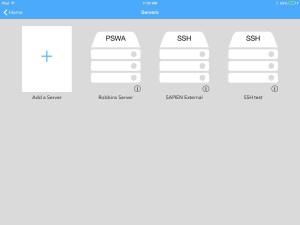 PowerShell SSH and PSWA Servers.