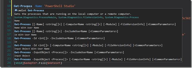Hover - Parameter Set Info