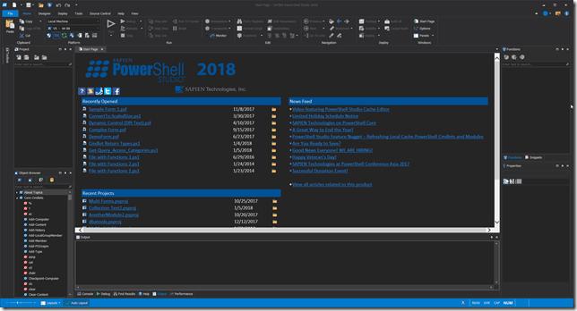 PowerShell Studio 2018