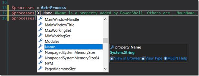 PrimalSense Added PowerShell Properties