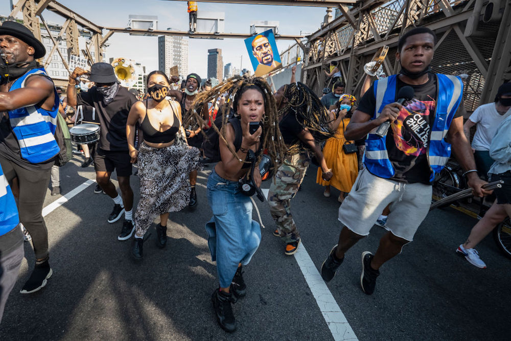 """anthropology 2020 - This """"We Will Not Be Silenced"""" protest in New York City is just one of thousands of uprisings around the globe that erupted starting in May in response to anti-Black racism and police violence in the United States."""
