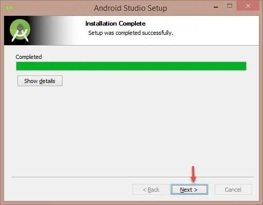 Android Studio Installation Step-6