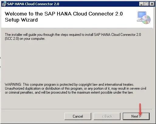 SAP Cloud Connector Step-1