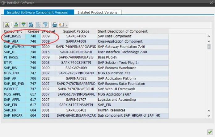 SAP Netweaver 7.40
