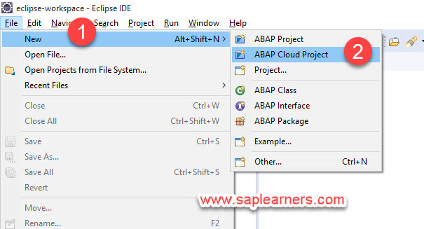 ABAP in Cloud project Step5
