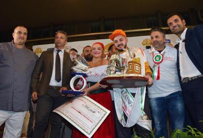 Luigi Greco vincitore 5 campionato pizza doc