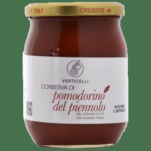 Conserva di Pomodorino del Piennolo del Vesuvio DOP Verticelli