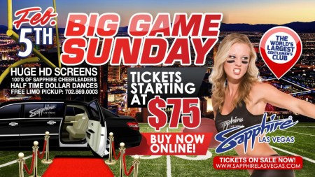 Big Game Sunday - Super Bowl 2017 Las Vegas