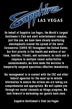 Sapphire LV Special Announcement