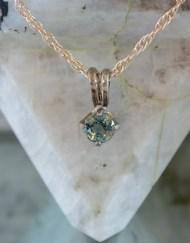 Montana Sapphire Pendant