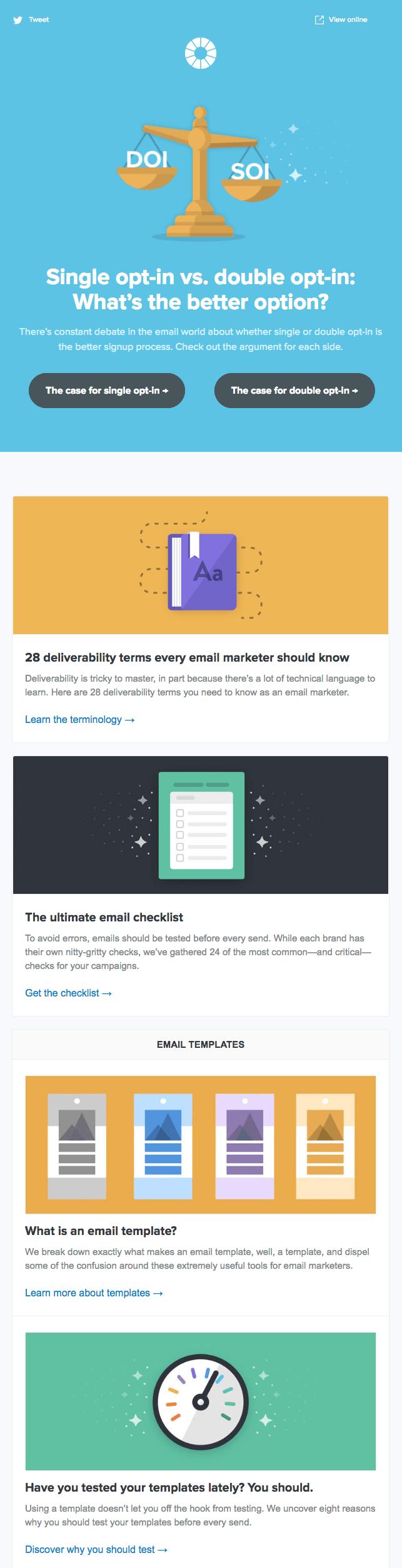 Litmus Email Newsletter