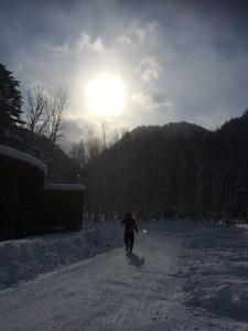 定山渓自然の村キャンプ場で冬キャンプ