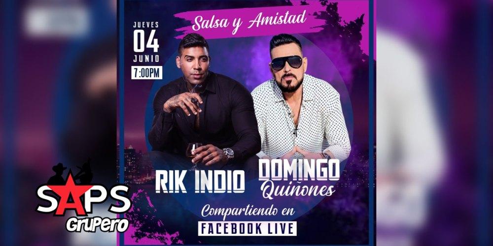 """Rik Indio - Domingo Quiñones - """"Salsa y Amistad"""""""