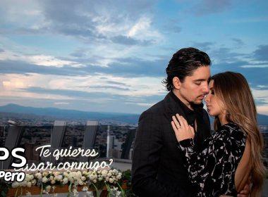 El hijo del Potrillo, Alex Fernández se compromete con el amor de su vida Alexia Hernández