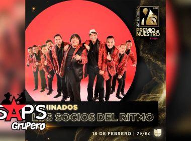 """Los Socios del Ritmo nominados en """"Premio Lo Nuestro"""" y en """"Premios La Mejor 2021"""""""