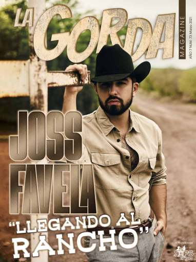 Portada La Gorda Magazine Marzo 2021, Joss Favela